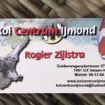 Koi Centrum IJmond visit in Holland.