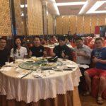 Malaysia Koi hobbyist invite lunch.