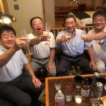60 years old anniversary happy birthday party to JPD board members Shibata , Shimatou , Tabata.