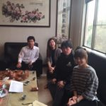 Mr. shi 先生 invited to his company head office as well.